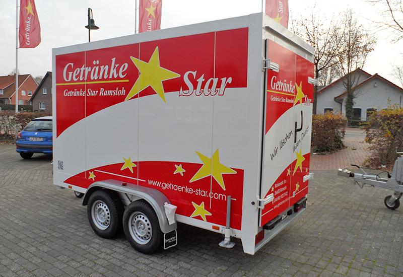 Getränke Star - Kühlwagen