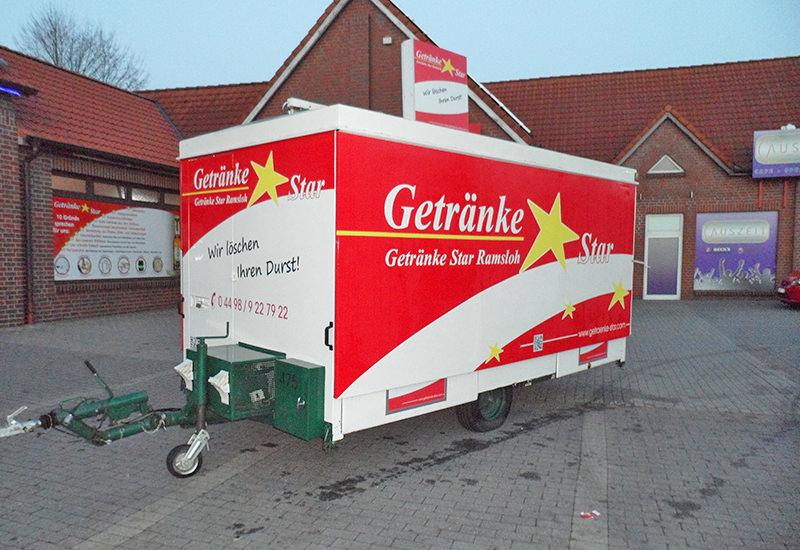 Getränke Star - Verkaufswagen